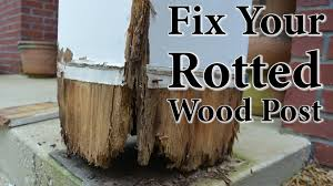 Decorative 4x4 Post Wraps Diy Porch Post Repair Fix Your Rotted Wood Post Youtube