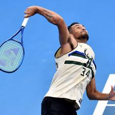 Nick kyrgios practice 2017 bnp paribas open indian wells. Ace Idea Nick Kyrgios Leads The Way As Sport Gets Behind Bushfire Relief Efforts Tennis The Guardian