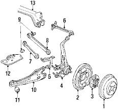 parts com® honda knuckle r rr partnumber 52111se0020 1988 honda accord lxi l4 2 0 liter gas suspension components