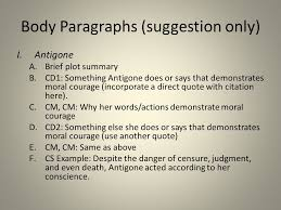 "developing your ""moral courage"" essay ppt video online  8 body paragraphs"