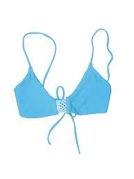 Details About Posh Pua Women Blue Swimsuit Top L