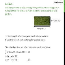 ex 3 2 5 chapter 3 class 10 pair of linear equations in two variables