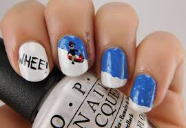 12 Days of Christmas Nail Art Challenge: Snow Day | Be Happy and ...
