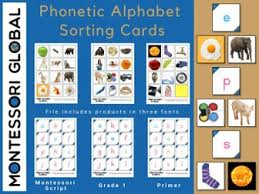 See phonetic symbol for a list of the ipa symbols used to represent the phonemes of the english language. Phonetic Alphabet Sorting Cards Teaching Resources