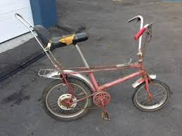 vintage toys vintage raleigh chopper bicycle was sold for r2