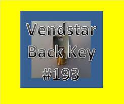 Vending Machines Keys Interesting VENDSTAR 48 48 Candy Machines Keys For Vending TOP BACK KEY