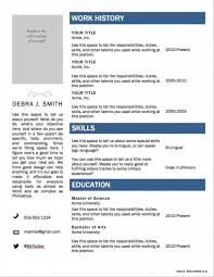 Best Resume Builder App For Android 2017 Resume Resume
