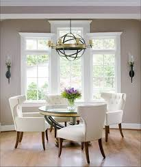 round dining table sets stylish glass round dining table and chairs