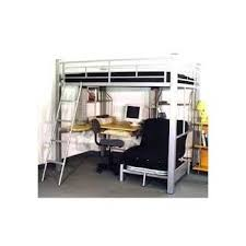 Bunk bed with office underneath Wood Loft Bed With Desk Underneath Foter Full Size Loft Bed With Desk Underneath Ideas On Foter