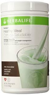 herbalife formula 1 nutritional shake mix mint chocolate 1 72 lb