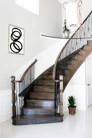 ... Interesting Home Interior Decoration With Various Staircase Wall Decor  : Good Looking Image Of Home Interior ...