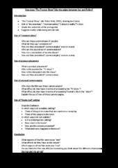 truman show analytical essay