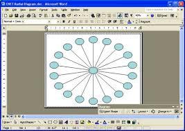 Microsoft Word Diagram Templates Microsoft Word Web Diagram Great Installation Of Wiring Diagram