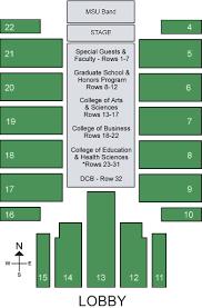 Msu Dome Seating Chart