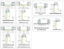 standard sliding door width sliding glass