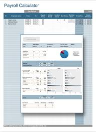 Payroll Free Software Download Excel Raj Excel Payroll Calculator Excel Templates Free