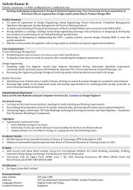 Automobile Service Engineer Resume Sample 24 New Update Sample Mechanical Engineering Resume Professional 1