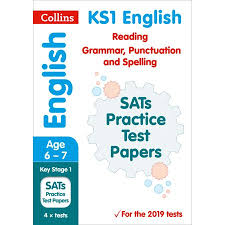 Grammar Punctuation Collins Ks1 Revision And Practice Ks1 English Reading Grammar Punctuation And Spelling Sats Practice Test Papers 2019