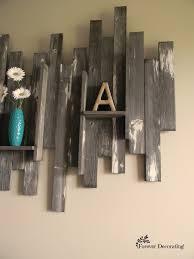 barn wood wall art basement