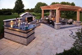 But Take It Easy Outside By Entertaining In Your Outdoor Kitchen The Designers At Seasonal Landscape Solutions Can Custom Design A