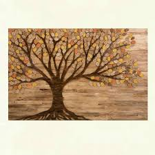 fall leaves wall decor