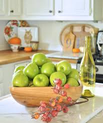 Green Apple Decorations For Kitchen Fall Decor Lime Green Is The New Orange The Thinking Closet