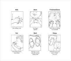 Baby Sign Language Chart Sample Baby Sign Language Chart 6 Documents In Pdf