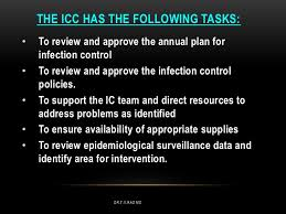 infection control committee t v rao md 18 19