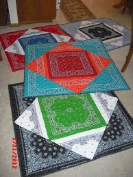 9 Easy Bandana Quilts to Inspire You - Quilting Digest & A bandana quilt would be a great first project for a young quilter. Learn  more about this teen's quilt at Sylvia's Stitches. Just click here. Adamdwight.com