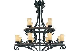 outdoor patio and backyard medium size wrought iron chandelier outdoor patio vintage candle votive non electric