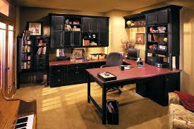 cool home office desk. Cool Home Office Idea With Cherry Wood Table Design Desk
