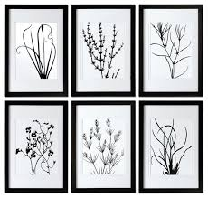 black and white wall decor black wall art and decor essentials inside black and white leaves black and white wall decor  on white black wall art with black and white wall decor 1 piece large canvas dining room artwork
