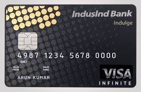 credit card with 22 k gold inlay