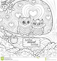 Choose your favorite coloring page and color it in bright colors. Cute Owls Art Therapy Coloring Page Owl Coloring Pages Art Therapy Coloring Book Mandala Coloring Pages