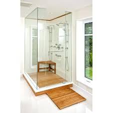 wooden shower seat corner natural teak shower bench throughout stool plans teak wood shower bench target