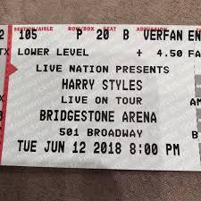 Tickets 2 Harry Styles Concert Tickets Nashville Tn