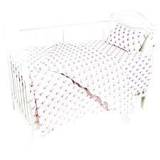 flamingo paradise baby bedding nursery 3 cotton crib bed linen kit for girls set pink full