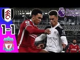 Liverpool vs man utd live stream: Fulham Vs Liverpool 1 1 All Goals Extended Highlights Pes 2020 Hd Youtube