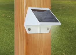 Solar Post Lights by Classy Caps. Dimensions deck and wall lights | DeckExpressions