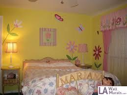 Girls Room Mural - Custom Wall Art