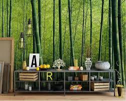 Beibehang Benutzerdefinierte Große 3d Tapete Grün Bambus Reine Und