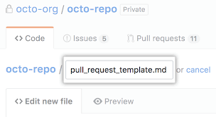 Creating a pull request template for your repository - GitHub Help