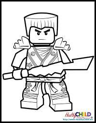 Lego Ninjago Kai Coloring Pages Ninjago Dragon Drawing At Coloring