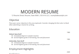 Career Objective Resume Example Examples Of Resumes