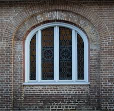 glass window texture. Arched Stained Glass Window Texture N