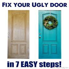 how to paint a front doorHow to paint your UGLY front door  All Things Thrifty