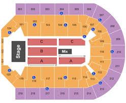 Scope Arena Tickets In Norfolk Virginia Scope Arena Seating