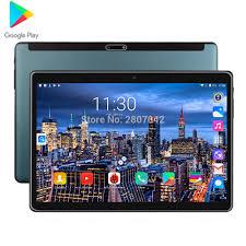2020 Siêu Cường Lực 2.5D Màn Hình 10 Inch Máy Tính Bảng Hệ Điều Hành  Android 9.0 Core 2GB RAM 32GB ROM wifi GPS Máy Tính Bảng Giá Rẻ Quà Tặng