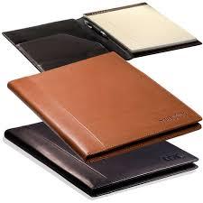 custom leeman harrison sueded leather portfolio large deluxe com