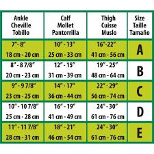 Thigh High Compression Hosiery Beige B Curad Medline